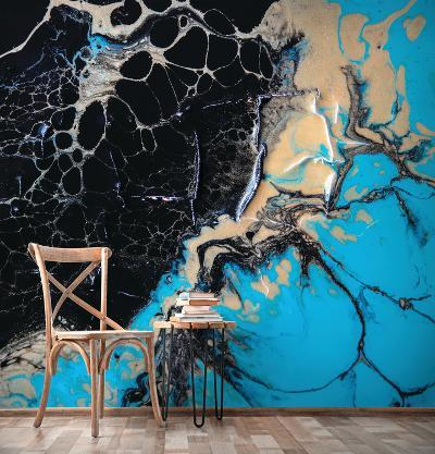 Precious Turquoise--Wall Mural