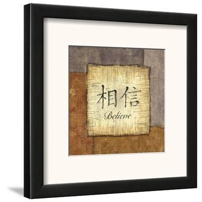 Precious Words I-Yuna-Framed Art Print