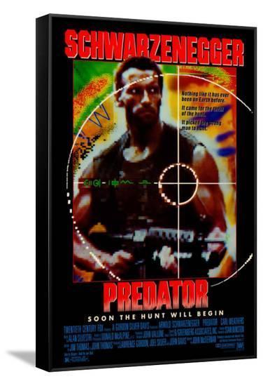 Predator--Framed Canvas Print