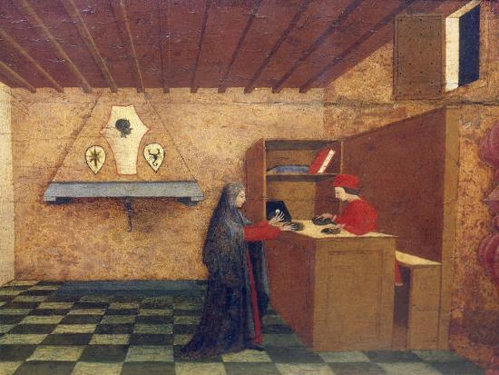 Predella of Miracle of Profaned Host-Paolo Uccello-Giclee Print