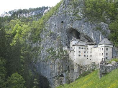 Predjama Castle, Built in Mouth of Cave, Near Postojna, Slovenia, Europe-Waltham Tony-Photographic Print