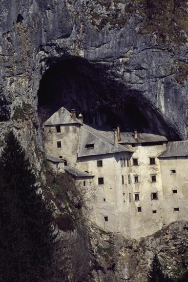 Predjama Castle--Giclee Print