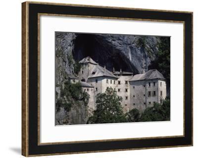Predjama Castle--Framed Giclee Print