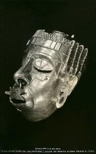 Prehispanic Gold Mask, Oaxaca, Mexico