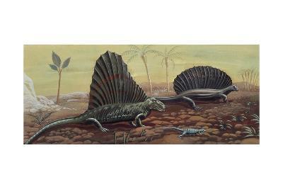 Prehistoric Reptiles--Giclee Print