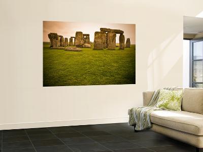 Prehistoric Ruins of Stonehenge-Glenn Beanland-Giant Art Print