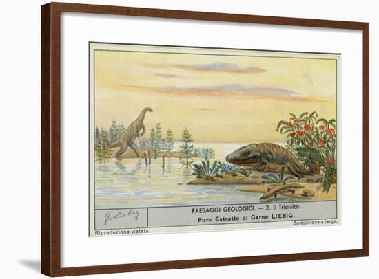 Prehistoric World-European School-Framed Giclee Print