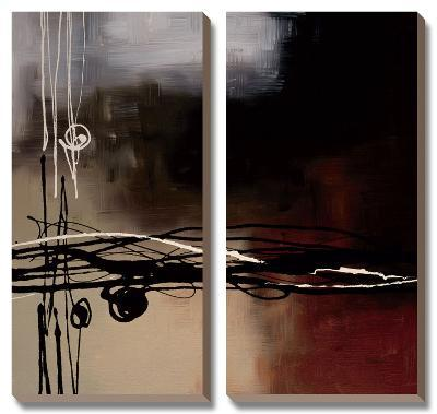 Prelude in Rust I-Laurie Maitland-Canvas Art Set