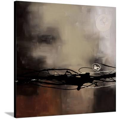 Prelude in Rust II-Laurie Maitland-Stretched Canvas Print