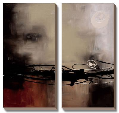 Prelude in Rust II-Laurie Maitland-Canvas Art Set