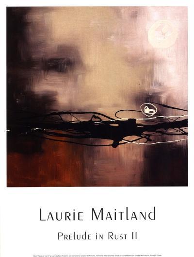 Prelude in Rust II-Laurie Maitland-Art Print