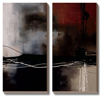 Prelude in Rust III-Laurie Maitland-Canvas Art Set