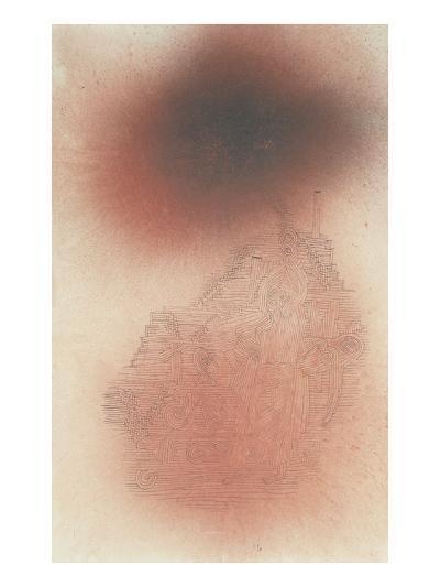 Prelude to Golgotha; Ein Vorspiel Zu Golgatha-Paul Klee-Giclee Print