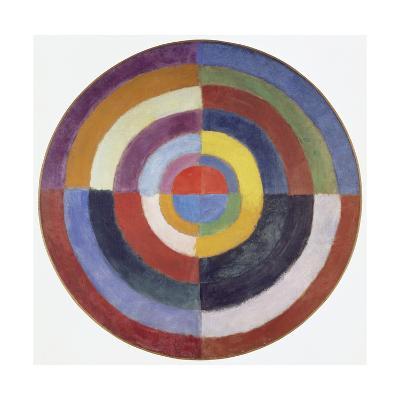 Premier Disque, 1913-14-Robert Delaunay-Giclee Print