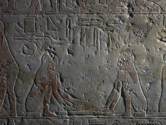 Preparation of Papyri--Giclee Print