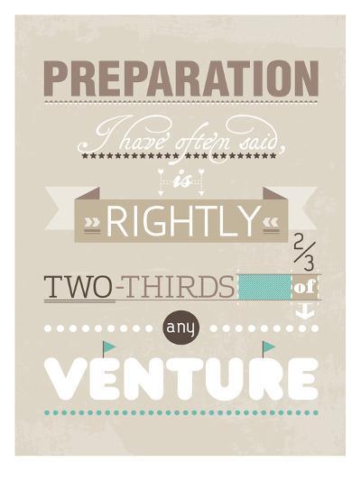 Preparation-Patricia Pino-Art Print