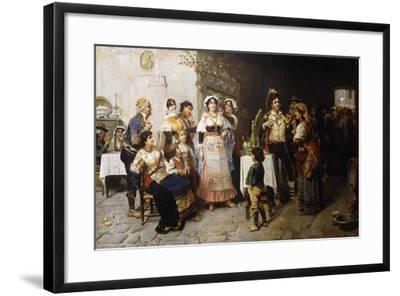 Preparations for the Wedding-Giacomo Mantegazza-Framed Giclee Print