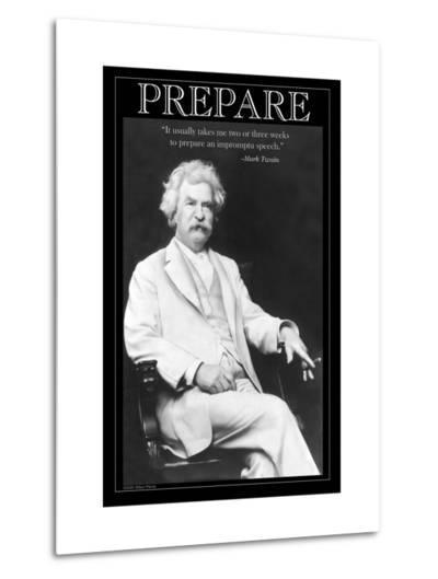 Prepare--Metal Print