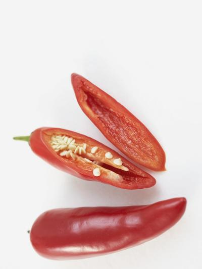 Prepared  Red Chili's--Photographic Print