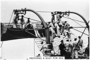 Preparing a Boat for Sea, 1937