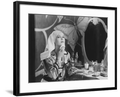 Preparing for a Night Out--Framed Photo