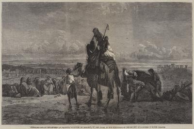 Preparing for an Encampment at Palmyra-Carl Haag-Giclee Print