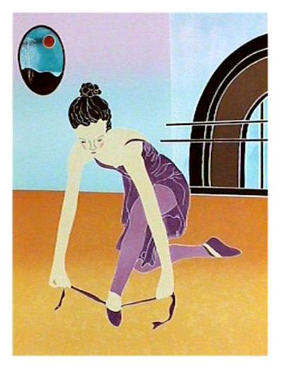Preparing for the Dance-Gina Lombardi Bratter-Collectable Print