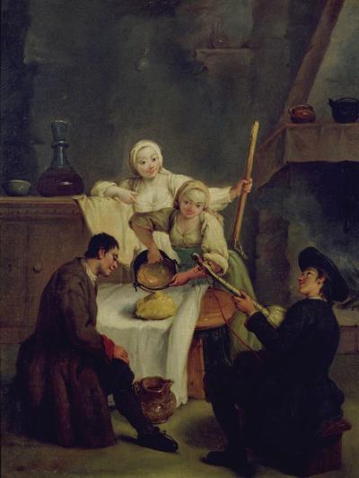 Preparing the Polenta-Pietro Longhi-Giclee Print