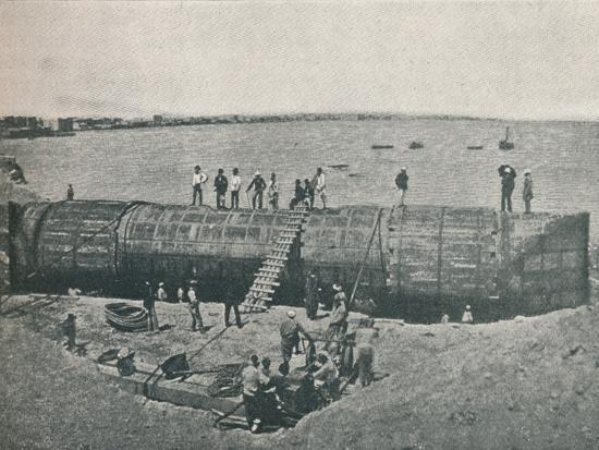 'Preparing to Launch', 1877, (1910)-Unknown-Photographic Print