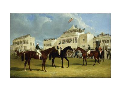 Preparing to Start for the Emperor of Russia's Cup at Ascot, 1845-John Frederick Herring I-Giclee Print