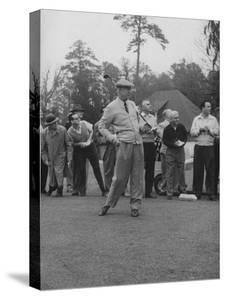 Pres. Dwight D. Eisenhower, Golfing