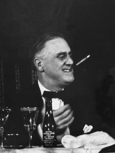 Pres. Franklin D. Roosevelt Attending the Jackson Day Dinner