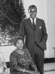 Pres. Kenneth D. Kaunda and His Wife at Home