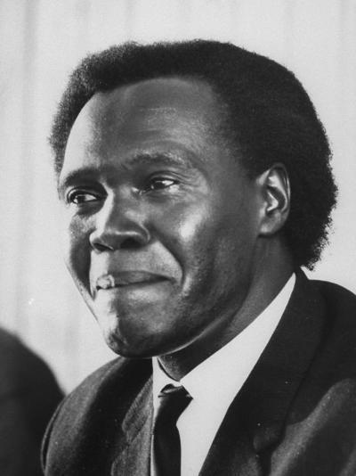 Pres. Milton Obote of Uganda--Photographic Print