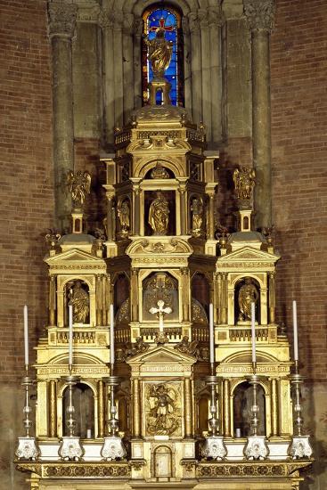 Presbytery Behind Ancient Altar, San Michele Maggiore Basilica, Pavia, Italy--Giclee Print
