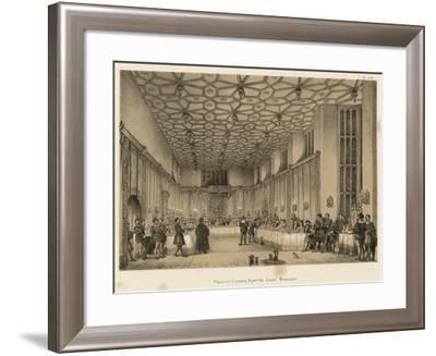 Presence Chamber, Hampton Court, Middlesex-Joseph Nash-Framed Giclee Print