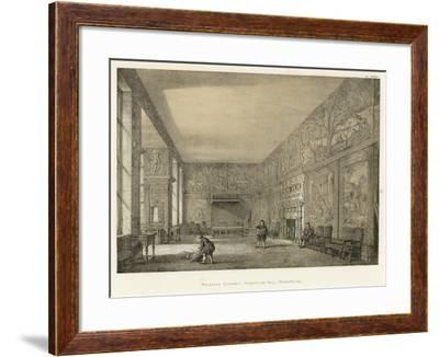 Presence Chamber, Hardwicke Hall, Derbyshire-Joseph Nash-Framed Giclee Print