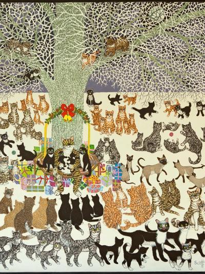 Present Time, 2012-Pat Scott-Giclee Print