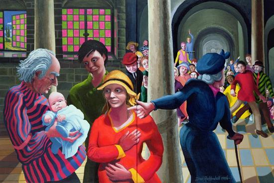 Presentation in the Temple, 1996-97-Dinah Roe Kendall-Giclee Print