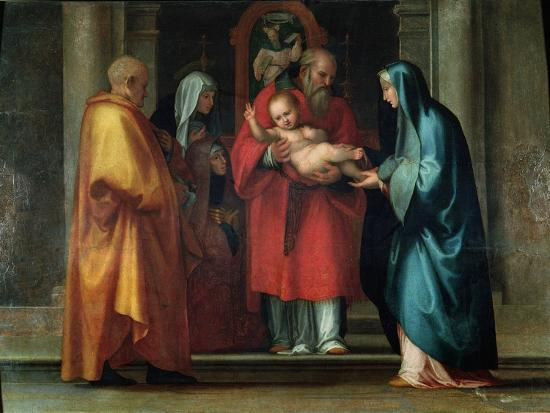 Presentation in the Temple-Fra Bartolommeo-Giclee Print