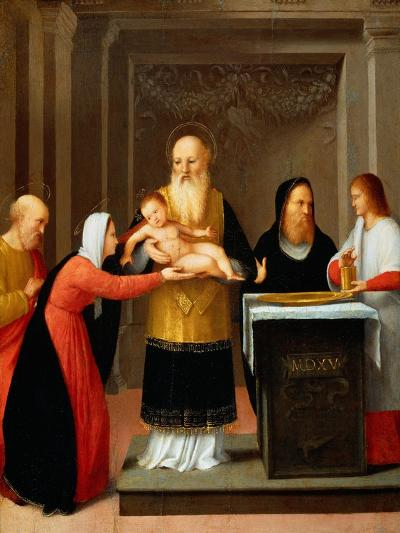 Presentation in the Temple-Bernardino Ferrari-Giclee Print