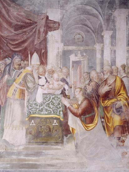 Presentation of Jesus in Temple--Giclee Print
