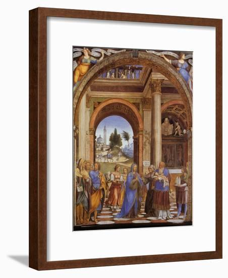 Presentation of Jesus in the Temple-Franz Lenhart-Framed Giclee Print