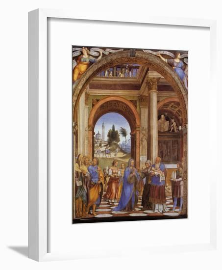 Presentation of Jesus in the Temple-Franz Lenhart-Framed Giclee Print