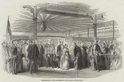 Presentation of the Addresses to Her Majesty at Tamworth--Giclee Print
