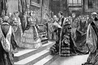 Presentation to the Queen, C1850S-William Heysham Overend-Giclee Print