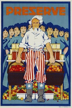 Preserve War Effort Poster