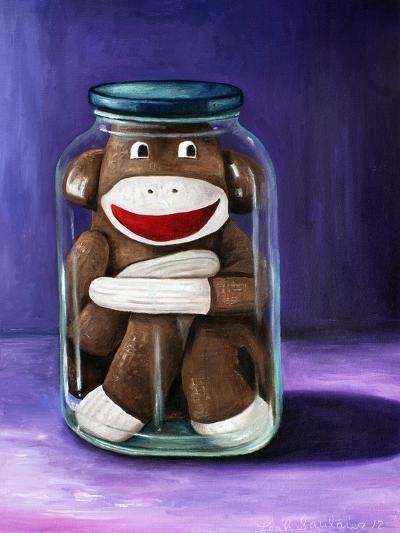 Preserving Childhood Sock Monkey-Leah Saulnier-Giclee Print