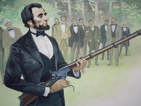 Image result for spencer rifle lincoln""