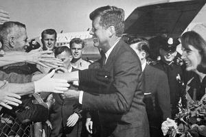 President and Mrs Kennedy Arrive at Love Field Airport